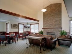 Long Meadow Golf Club Fireplace