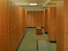Long Meadow Golf Club Locker Room
