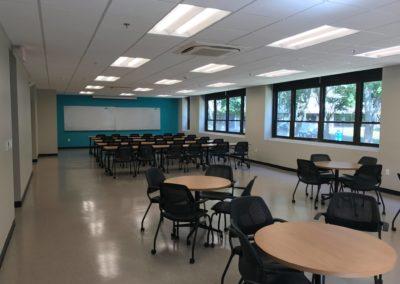 Merrimack college health science classroom renovation 1