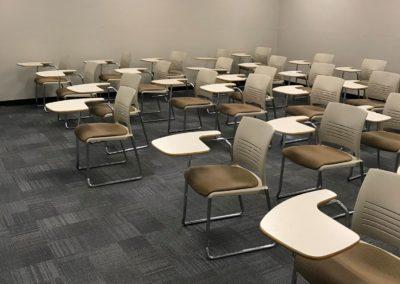 Merrimack college health science classroom renovation 3