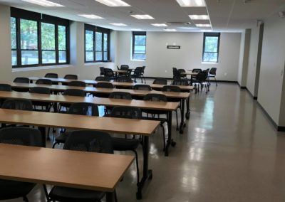 Merrimack college health science classroom renovation 5