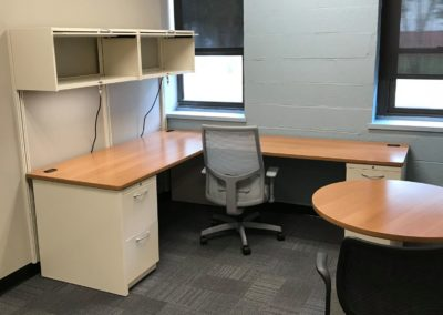 Merrimack college health science classroom renovation 7